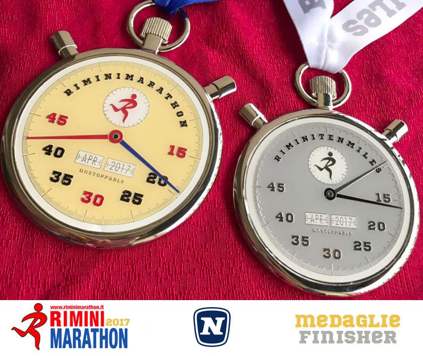 medaglie-rimini-marathon-2017finisher