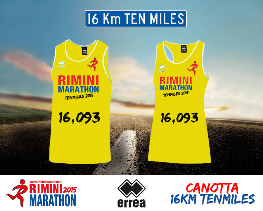 pacco gara 10 miglia tenmiles rimini marathon