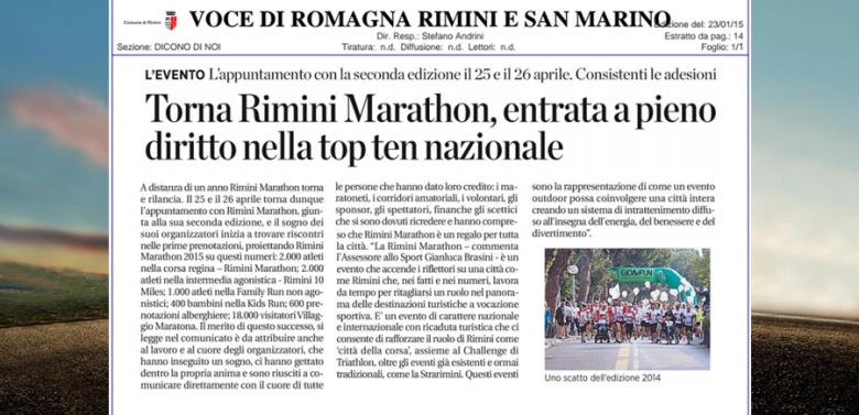 TORNA RIMINI MARATHON 2015!